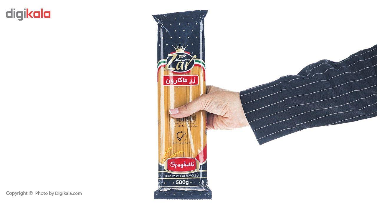 اسپاگتی قطر 1.7 زر ماکارون مقدار 500 گرم main 1 4