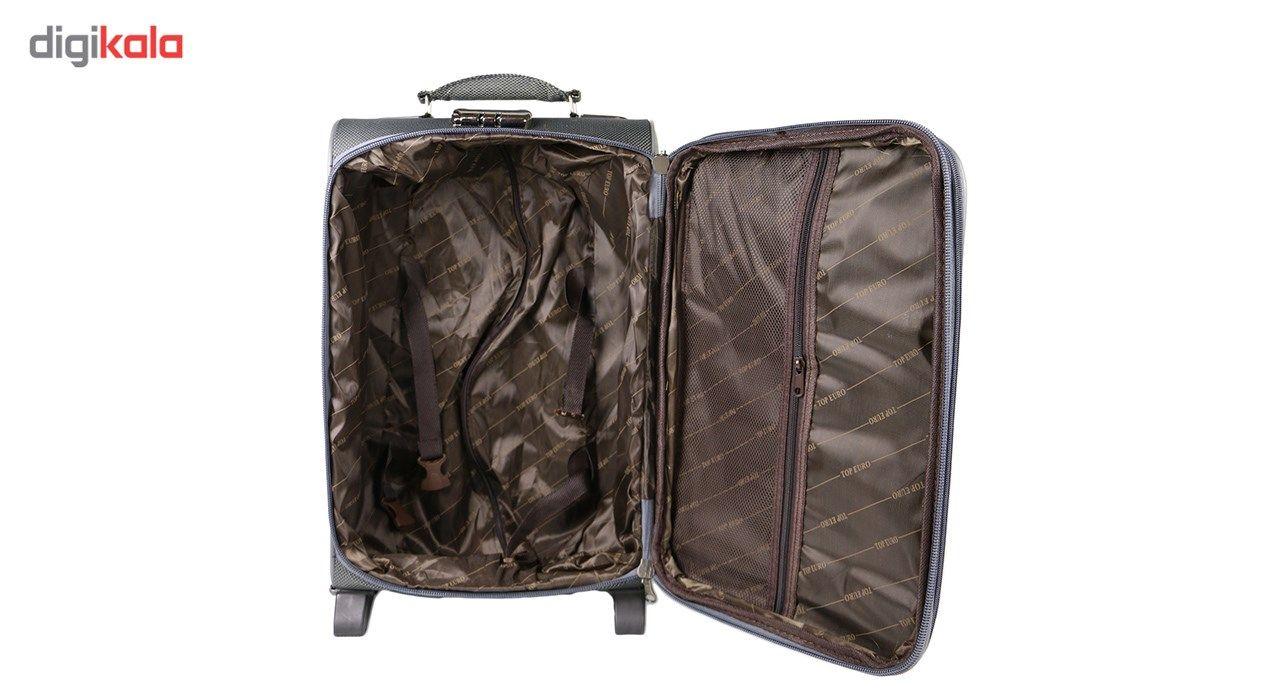 مجموعه سه عددی چمدان مدل تاپ یورو 4 main 1 3