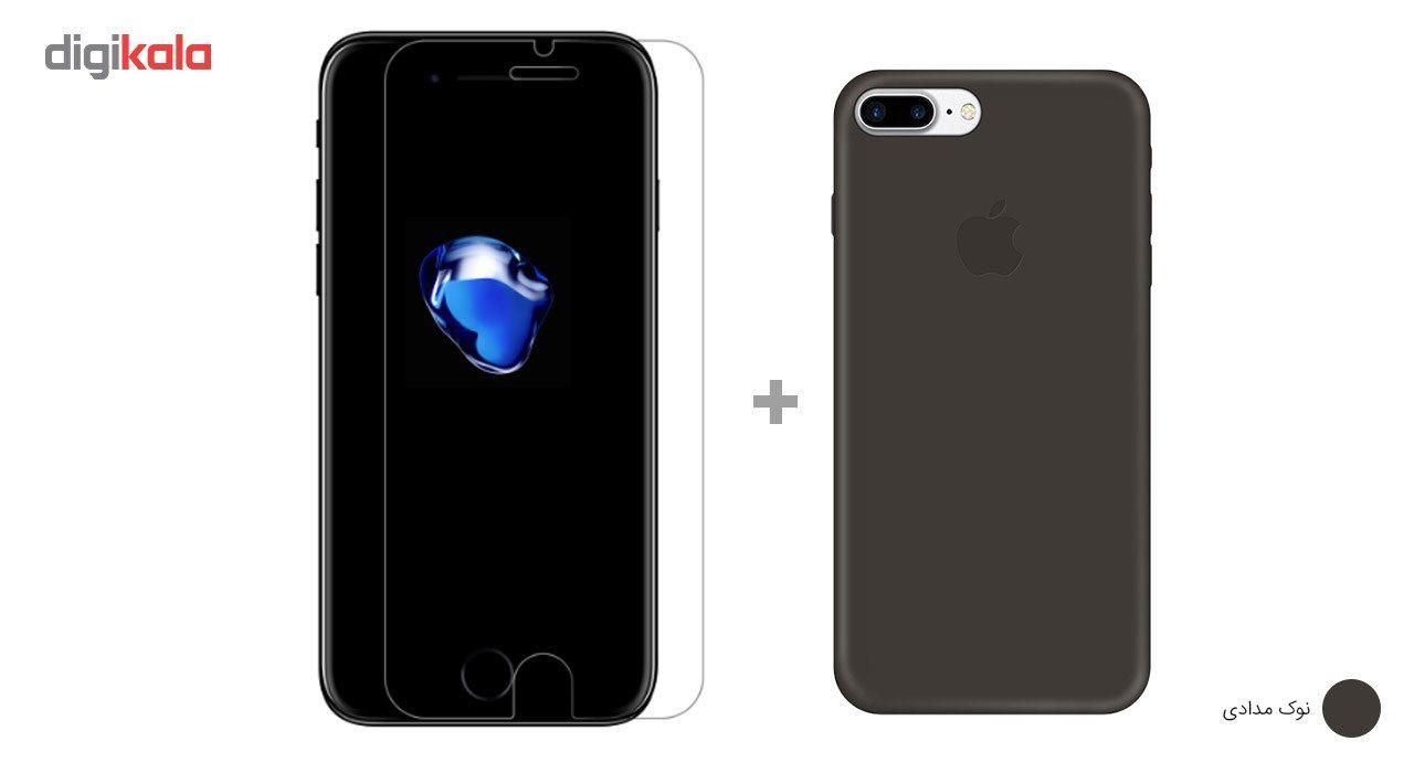 کاور کوالا مدل سیلیکونی مناسب برای گوشی موبایل اپل آیفون 7 پلاس به همراه محافظ صفحه نمایش main 1 28