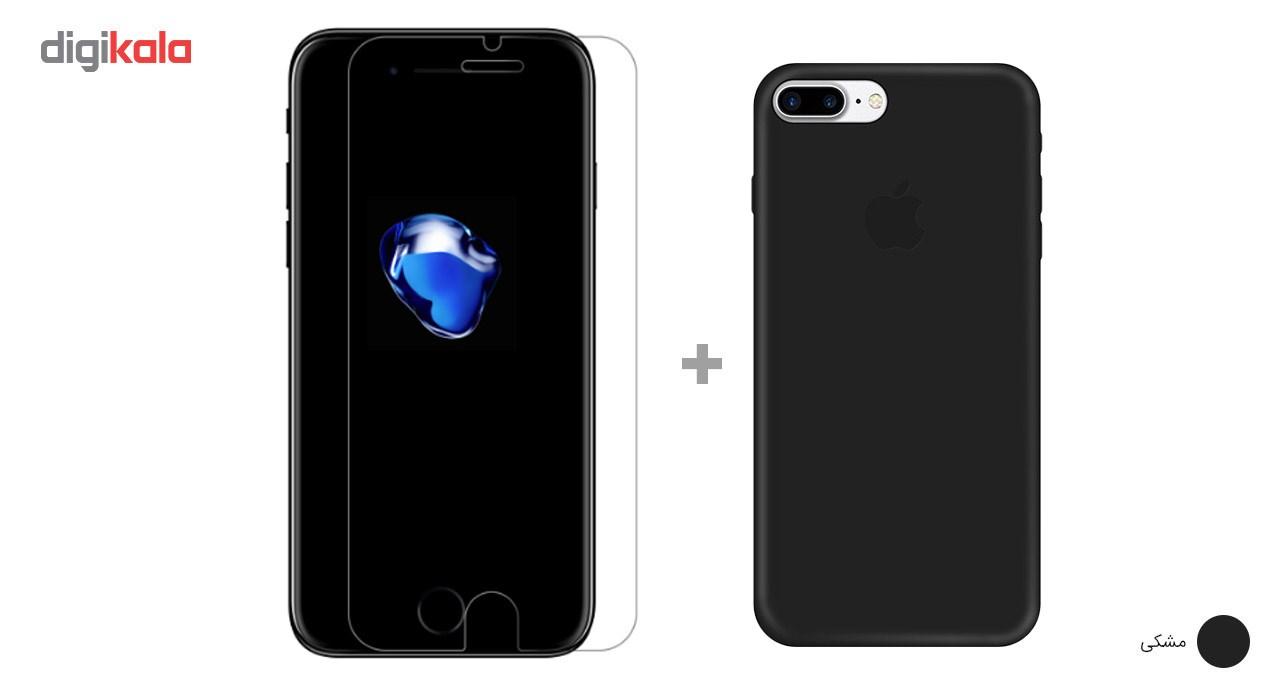 کاور کوالا مدل سیلیکونی مناسب برای گوشی موبایل اپل آیفون 7 پلاس به همراه محافظ صفحه نمایش main 1 29