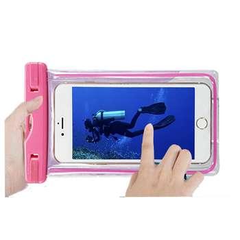 کیف ضد آب مدل AQUA POUCH مناسب برای گوشی موبایل 5.5 اینچی