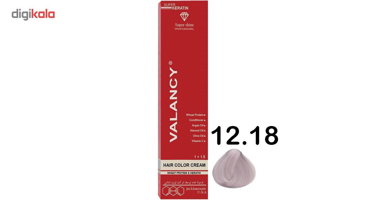 رنگ مو والانسی سری حرفه ای مدل الماسی شماره CV11 main 1 1