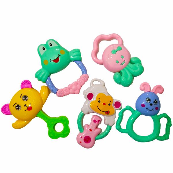 ست جغجغه کودک مدل baby bb003