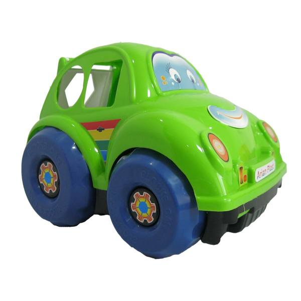 ماشین اسباب بازی هوش مدل فولکس اشکال
