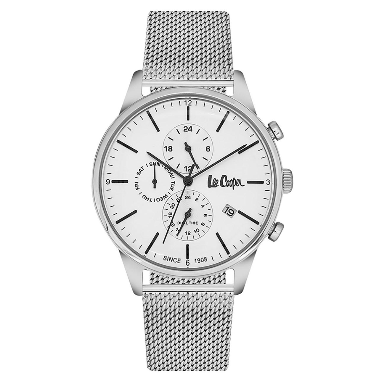 ساعت مچی عقربه ای مردانه  لی کوپر مدل LC06417.330 10