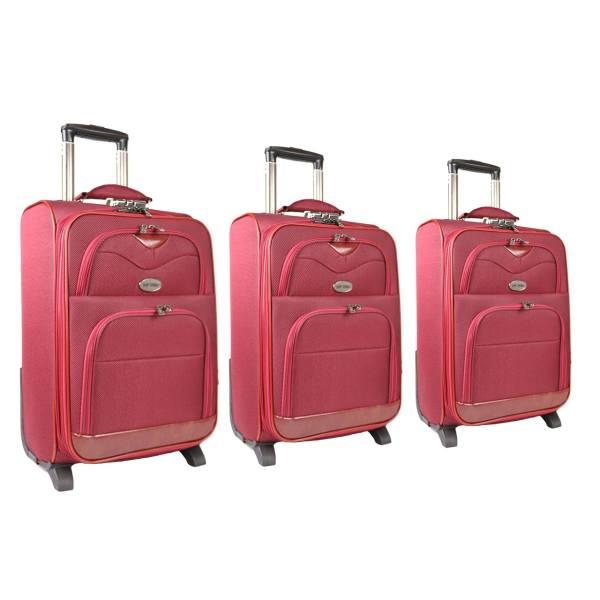 مجموعه سه عددی چمدان مدل تاپ یورو3