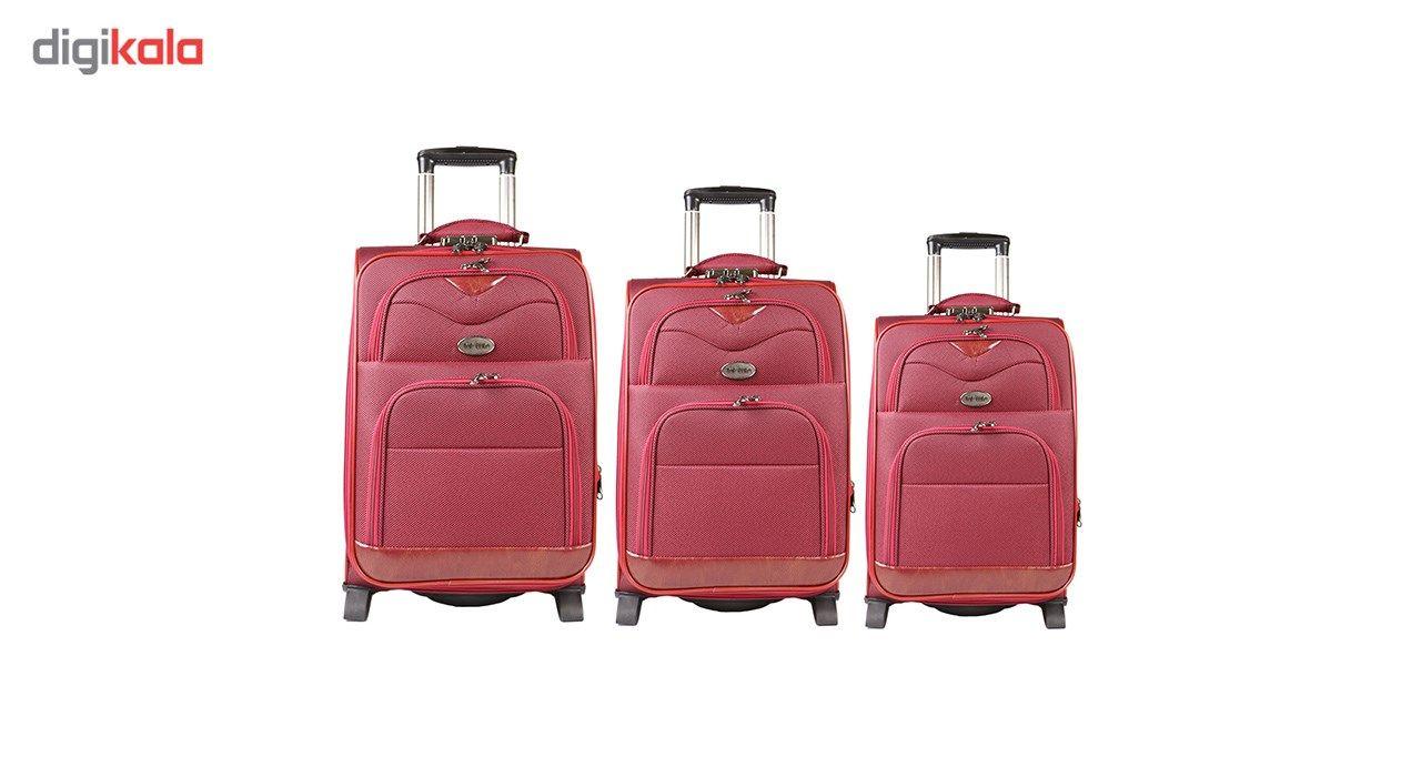 مجموعه سه عددی چمدان مدل تاپ یورو3 main 1 1