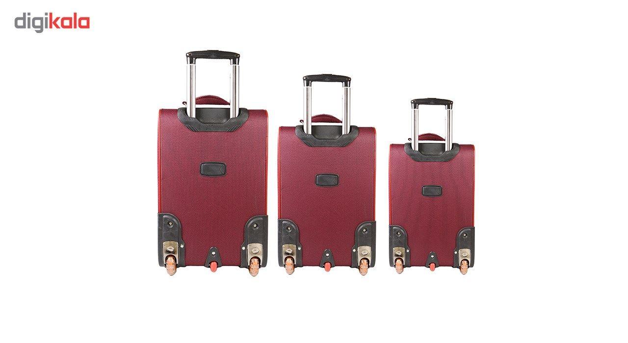 مجموعه سه عددی چمدان مدل تاپ یورو3 main 1 3