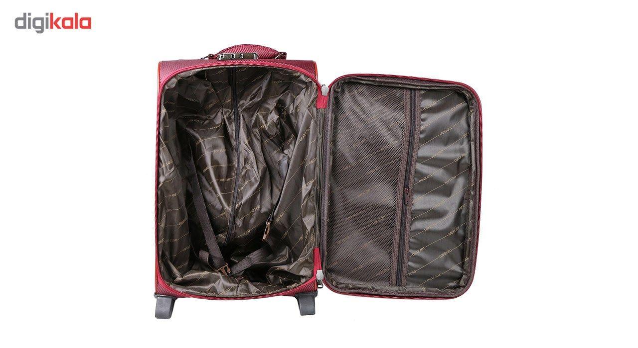 مجموعه سه عددی چمدان مدل تاپ یورو3 main 1 4