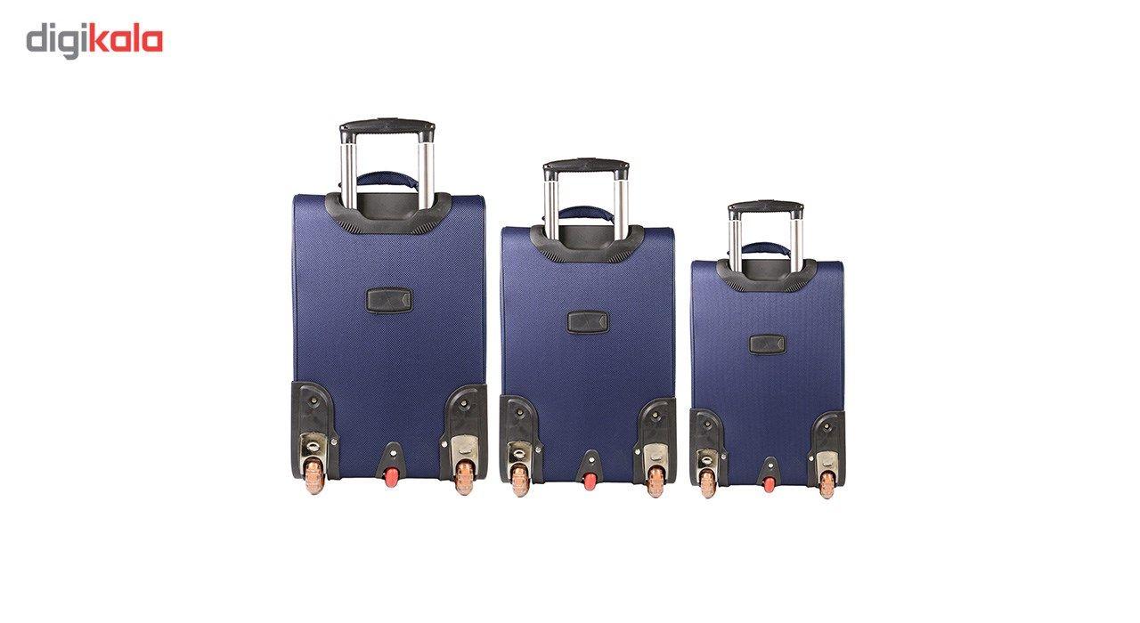 مجموعه سه عددی چمدان مدل تاپ یورو2 main 1 2