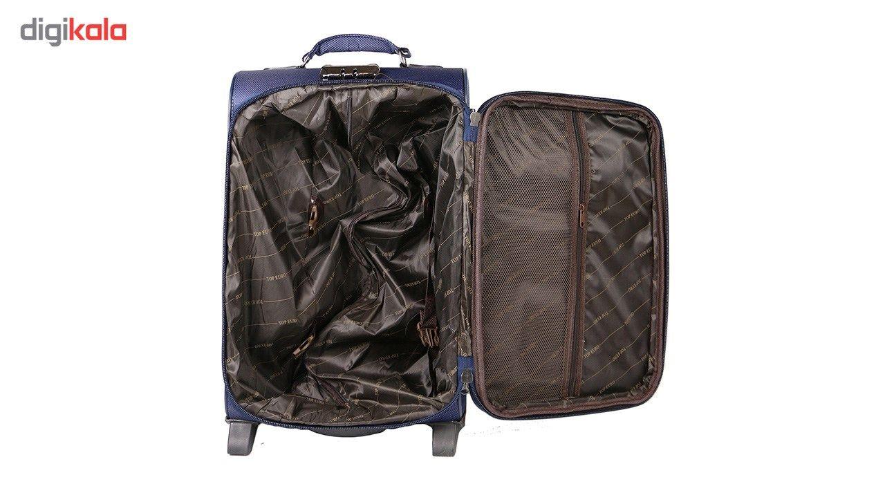 مجموعه سه عددی چمدان مدل تاپ یورو2 main 1 3