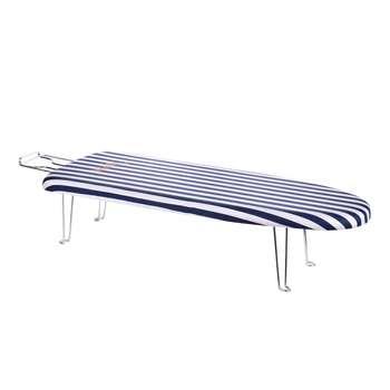 میز اتو نشسته وانیلی مدل Striped-3181