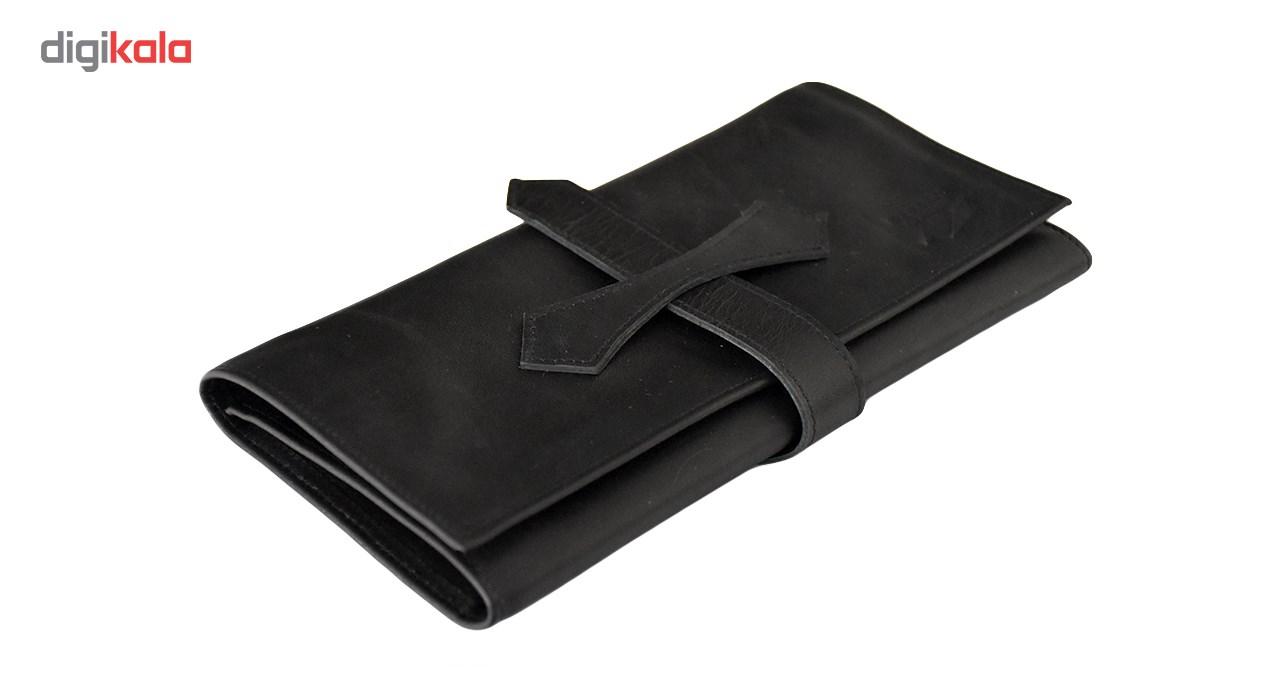 کیف پول چرم طبیعی رینو مدل دلسو کد RH01004