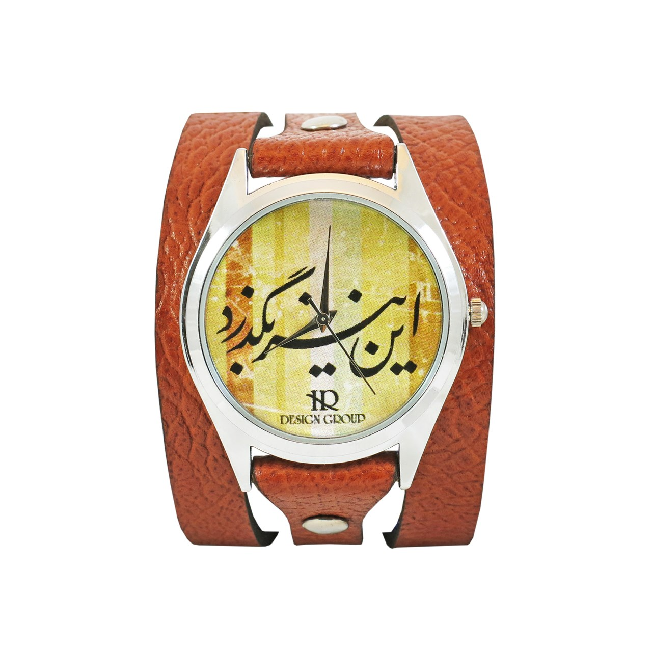 خرید ساعت دست ساز اچ آر دیزاین گروپ مدل 008