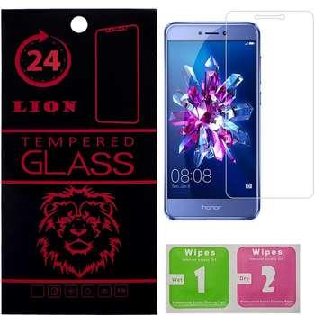 محافظ صفحه نمایش شیشه ای لاین مدل 2.5D مناسب برای گوشی هوآوی Honor 8 Lite