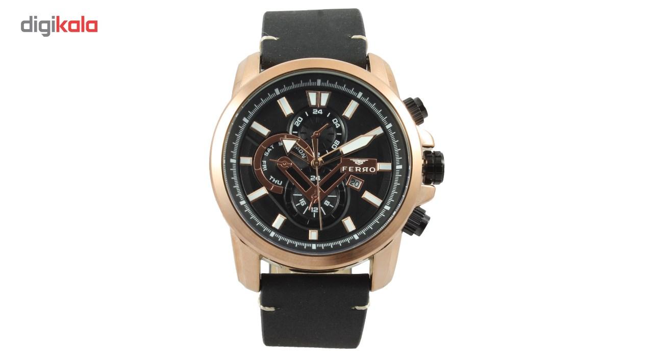 خرید ساعت مچی عقربه ای مردانه فرو مدل F61518-593-C