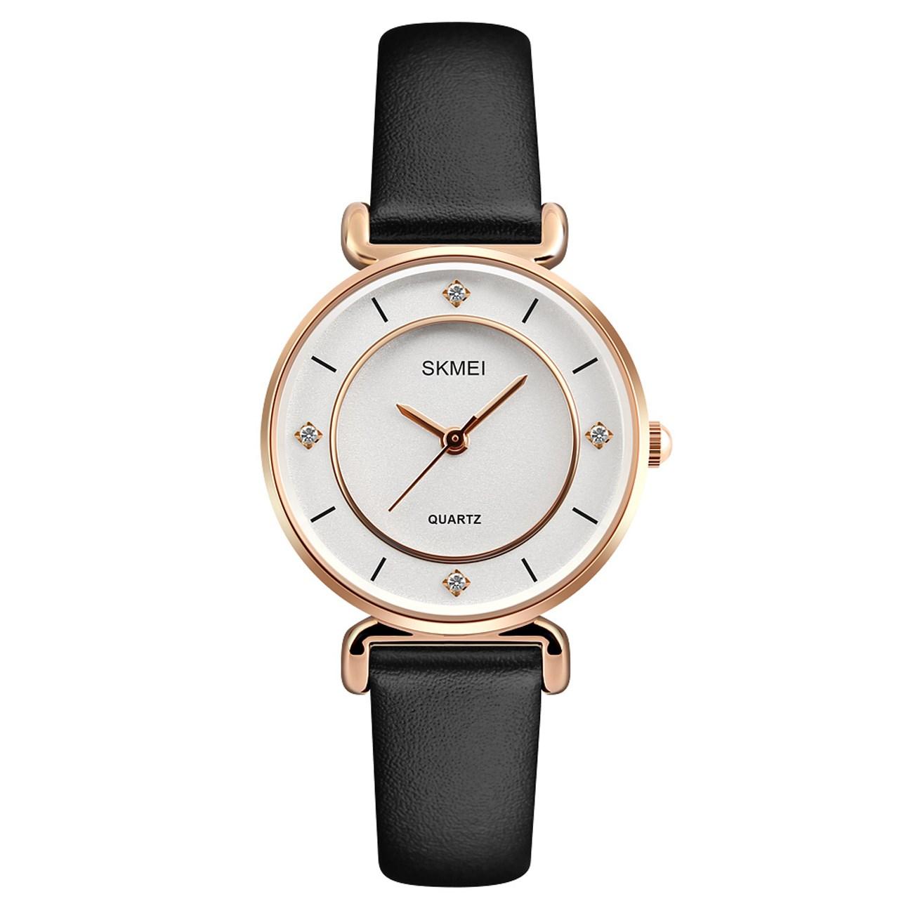 ساعت مچی عقربه ای زنانه اسکمی مدل 1330 کد 02