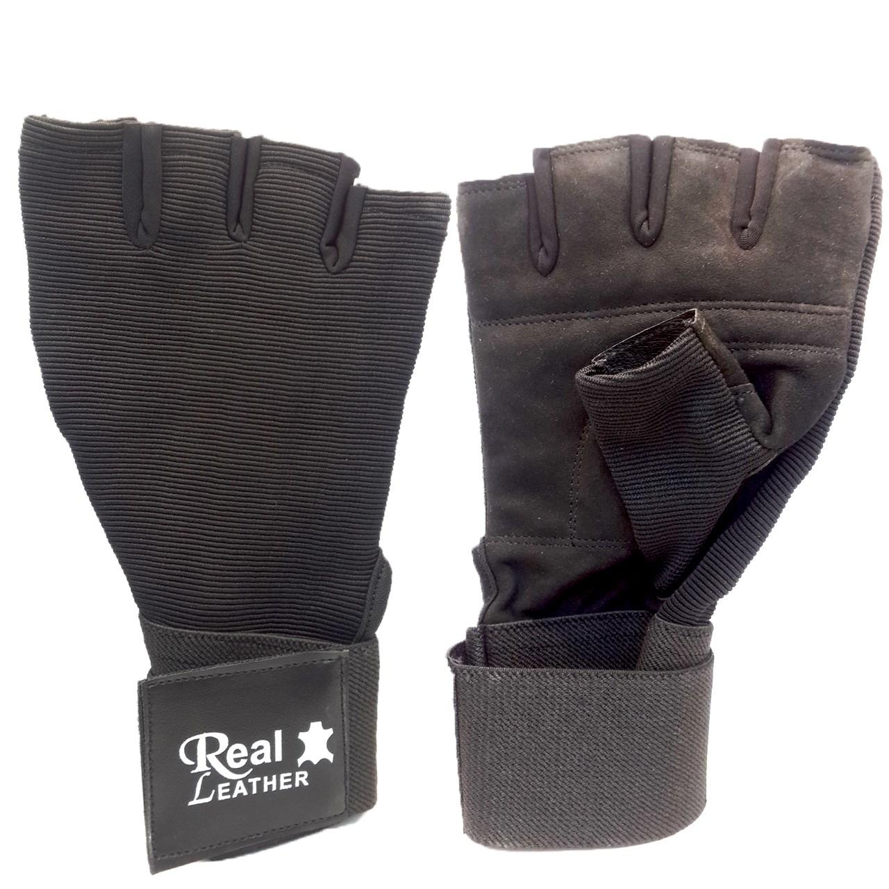 دستکش ورزشی چرمی کالا مدل 01