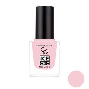 لاک ناخن گلدن رز مدل Ice chic شماره 79