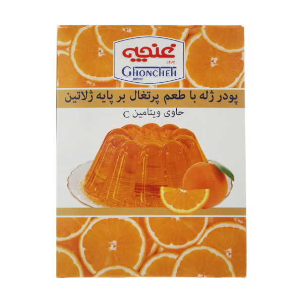 پودر ژله غنچه پرور با طعم پرتقال  - 100 گرم