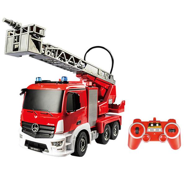ماشین بازی کنترلی دبل ای مدل fire truck