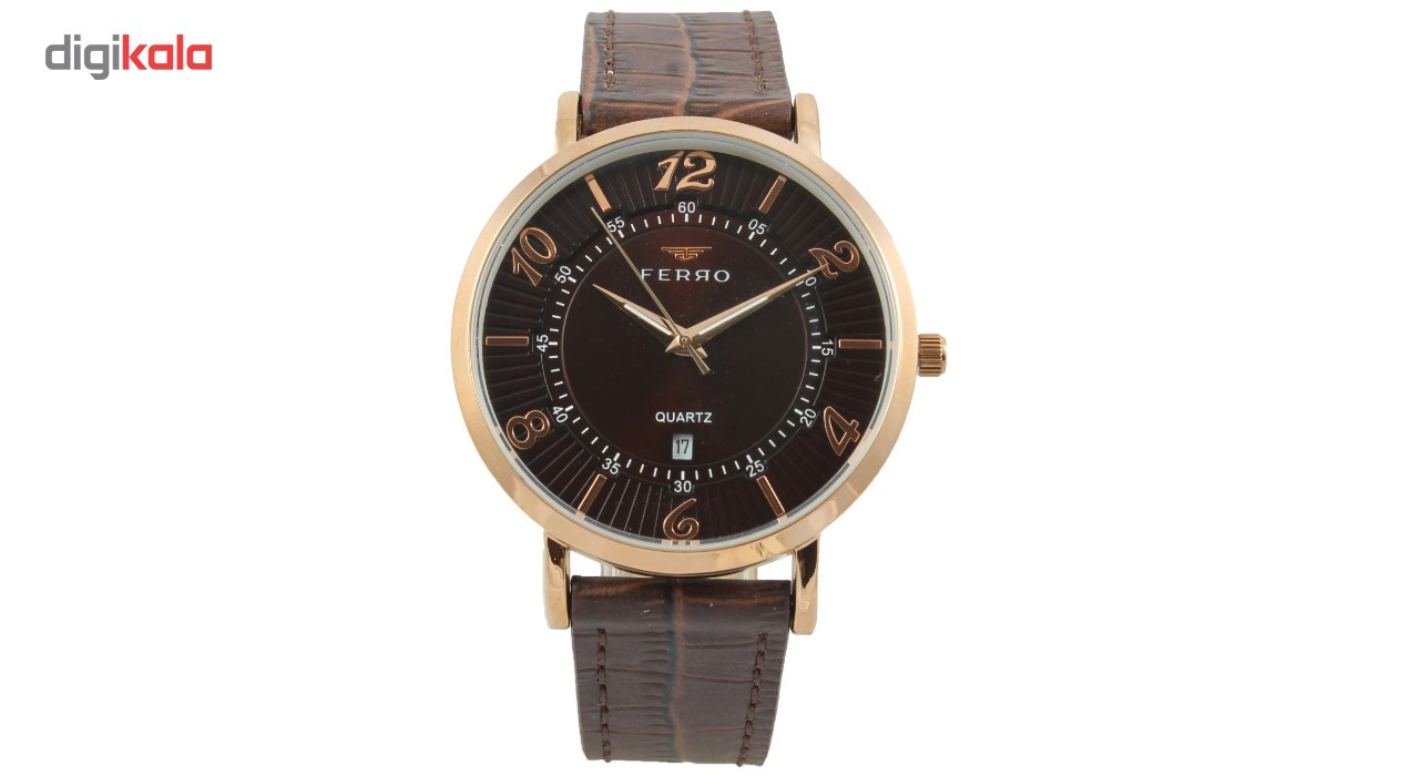 خرید ساعت مچی عقربه ای مردانه فرو مدل F61624-582-C3