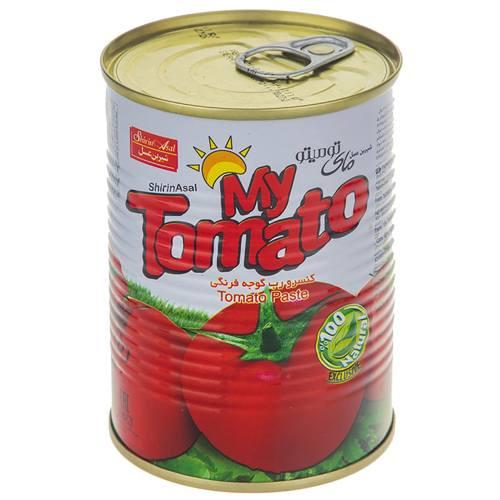 رب گوجه فرنگی شیرین عسل مقدار 400 گرم