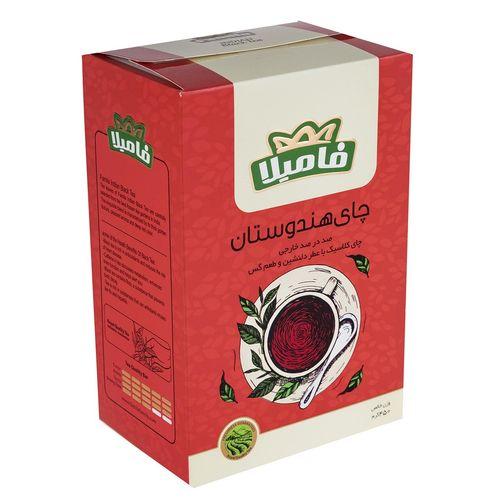 چای سیاه هندوستان فامیلا مقدار 450 گرم
