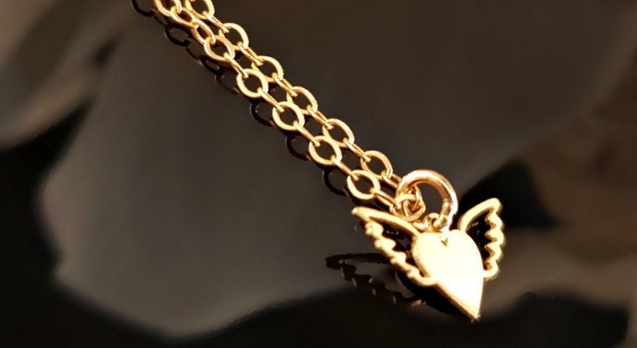 خرید آویز ساعت طلا 18 عیار گالری آمانژ مدل D141
