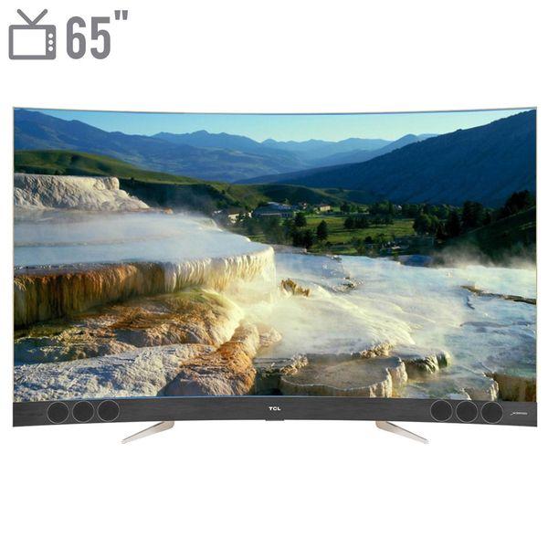 تلویزیون ال ای دی هوشمند خمیده تی سی ال مدل 65X3CUS سایز 65 اینچ