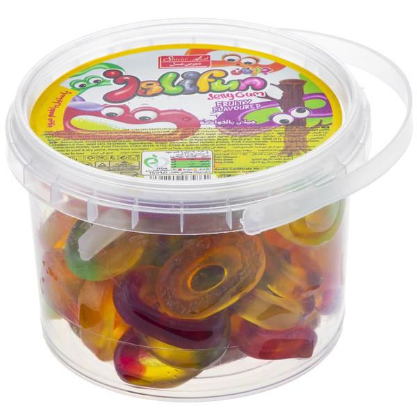 پاستیل میوه ای شیرین عسل مدل Ring مقدار 300 گرم