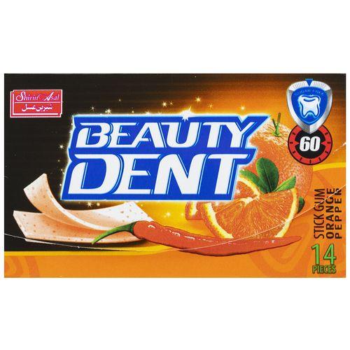 آدامس بدون شکر با طعم پرتقال و فلفل بیوتی دنت