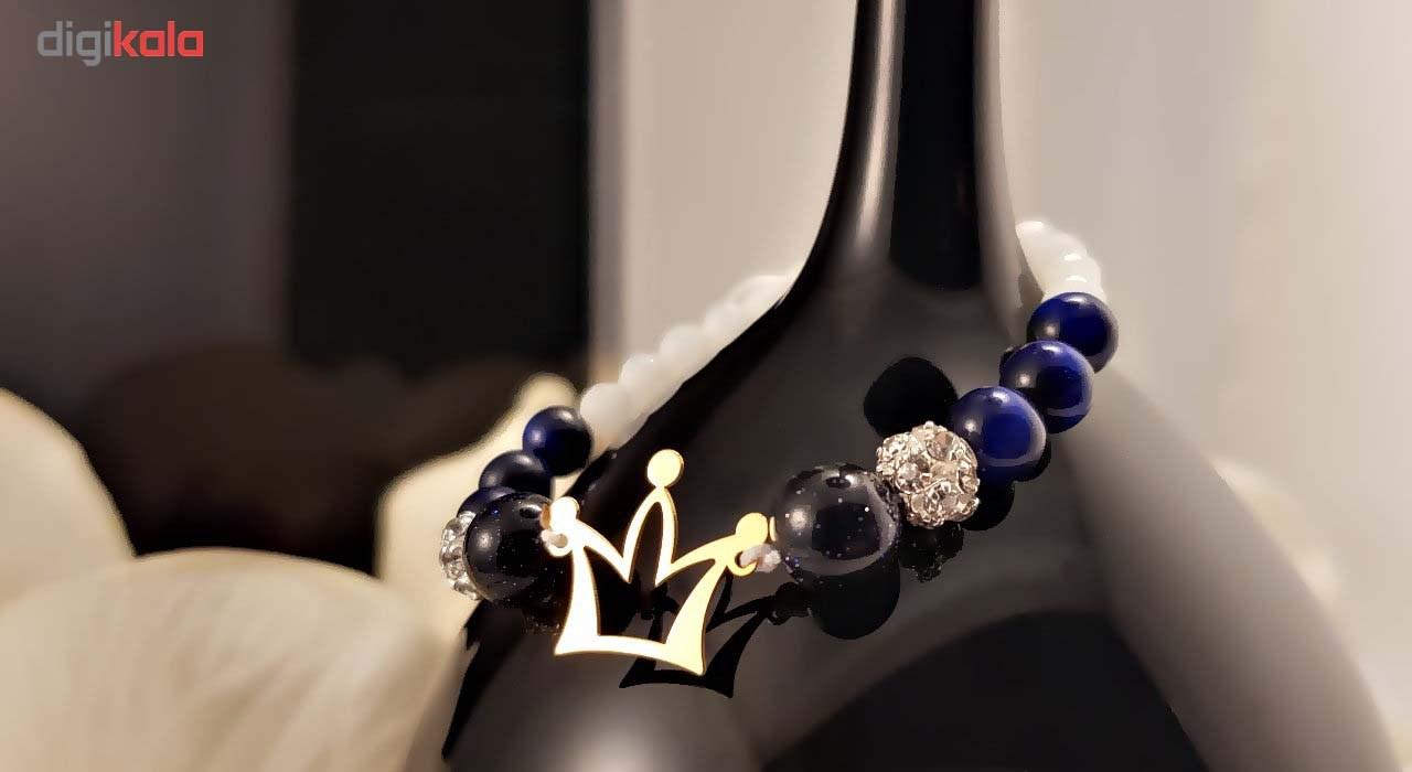 دستبند طلا 18 عیار گالری آمانژ مدل D138