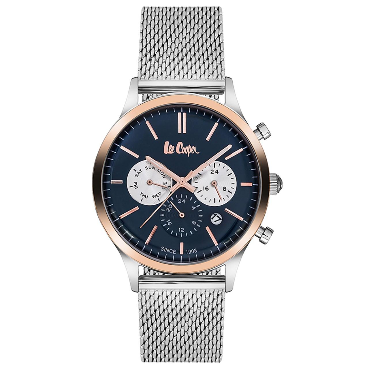 ساعت مچی عقربه ای مردانه  لی کوپر مدل LC06294.590