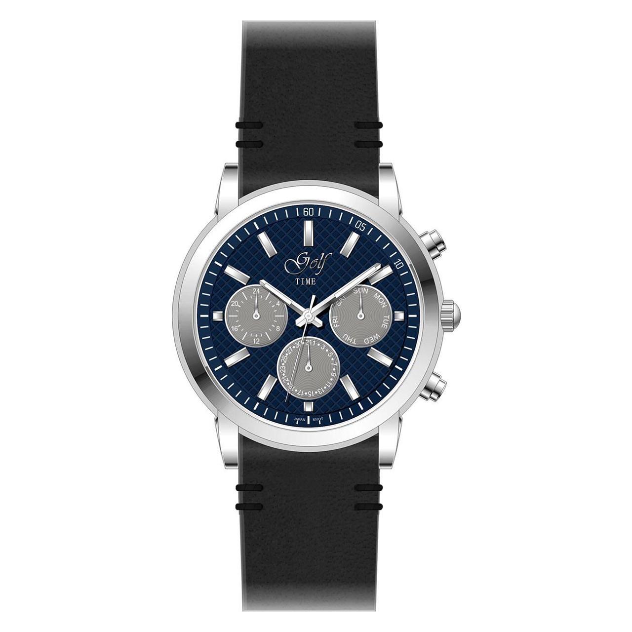 ساعت مچی عقربه ای گلف مدل 3-0216
