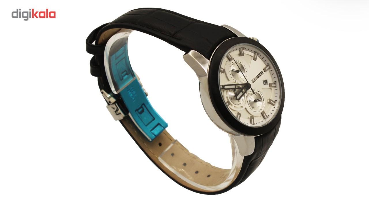 ساعت زنانه برند لدفورت مدل کرنوگراف کد ZK-0020