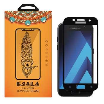محافظ صفحه نمایش شیشه ای کوالا مدل Full Glue مناسب برای گوشی موبایل سامسونگ Galaxy A3 2017