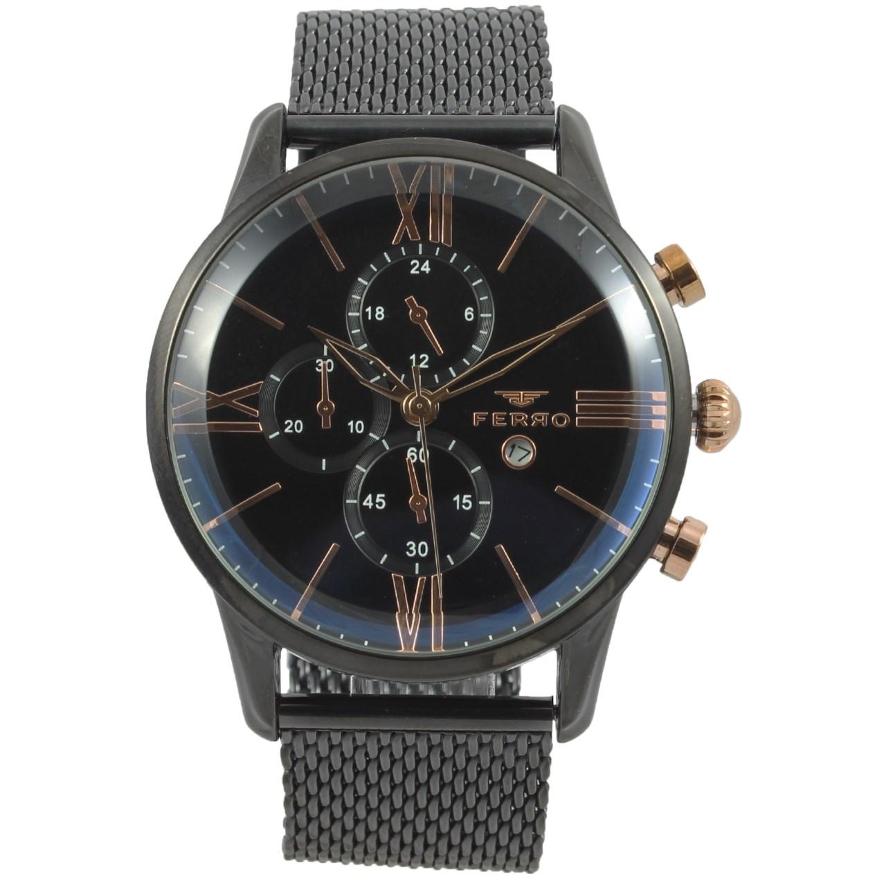 ساعت مچی عقربه ای مردانه فرو مدل F61536-589-G 54