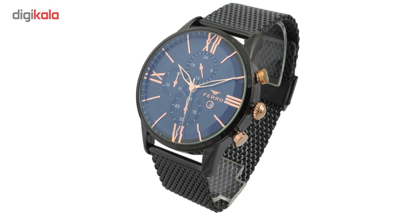 ساعت مچی عقربه ای مردانه فرو مدل F61536-589-G