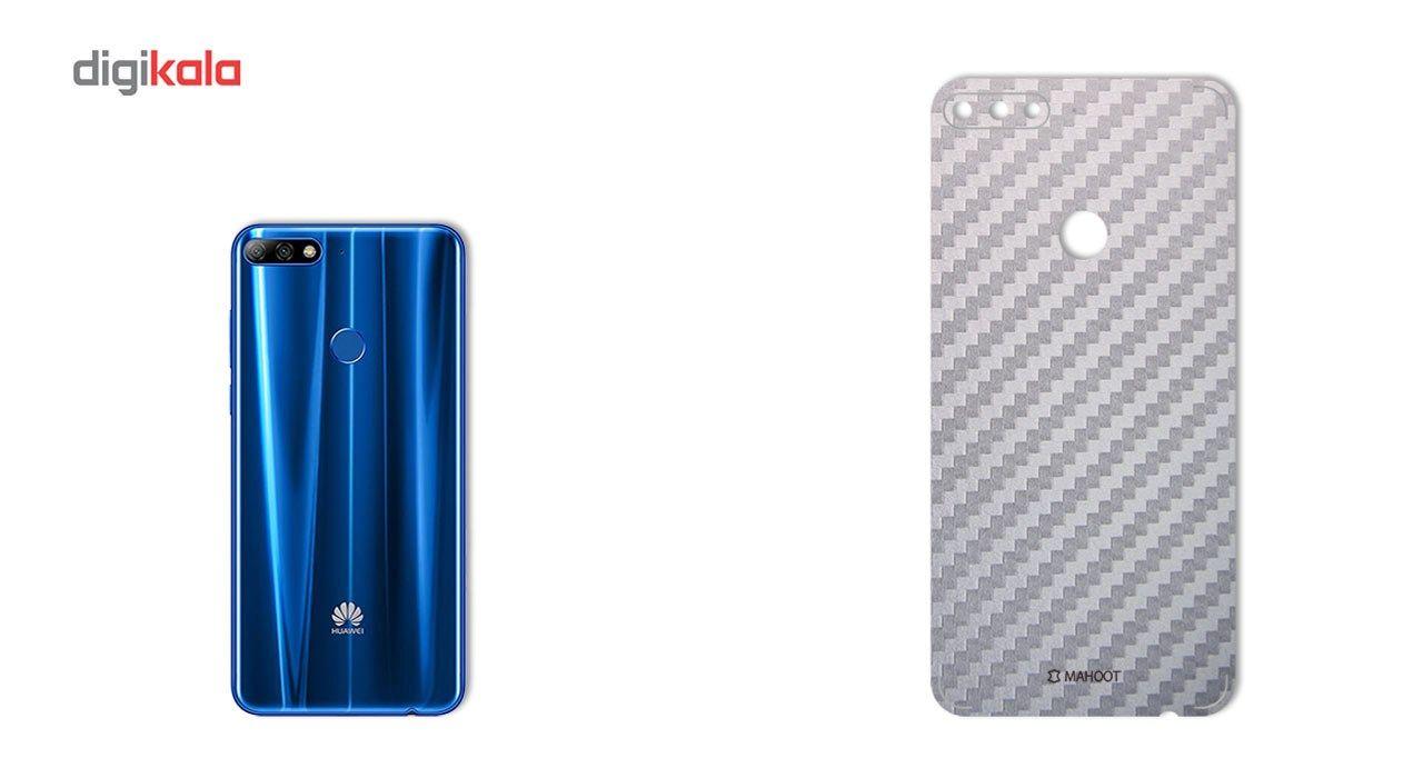 برچسب پوششی ماهوت مدل Carbon-fiber Texture مناسب برای گوشی  Huawei Y7 Prime 2018 main 1 3