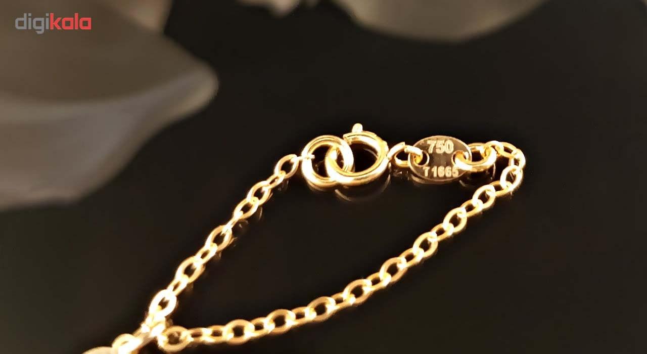 آویز ساعت طلا 18 عیار گالری آمانژ مدل D140