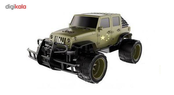 ماشین بازی کنترلی دبل ای مدل Jeep
