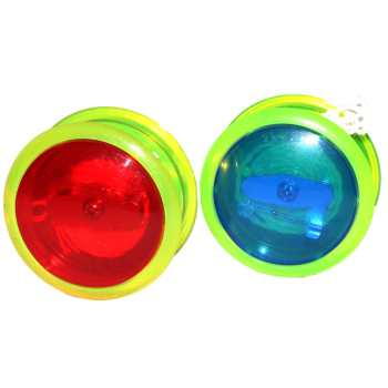 یویو چراغ دار مدل Red and Blue مجموعه 2 عددی