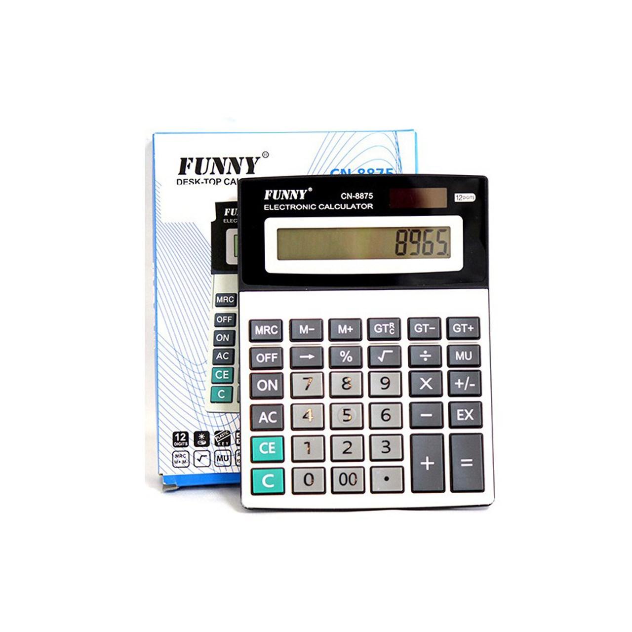 قیمت                      ماشین حساب فانی مدل 8875