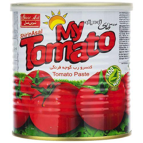 رب گوجه فرنگی شیرین عسل مقدار 800 گرم