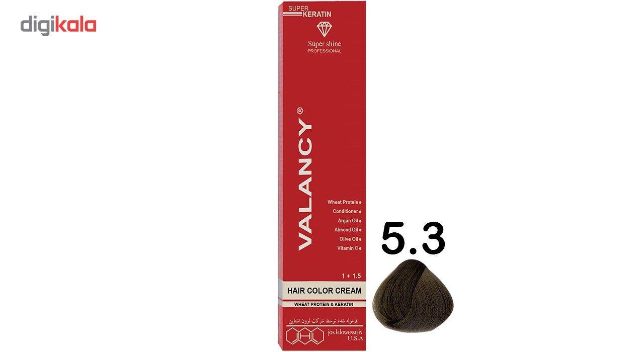 رنگ مو والانسی سری زیتونی مدل قهوه ای زیتونی روشن شماره M4 main 1 1