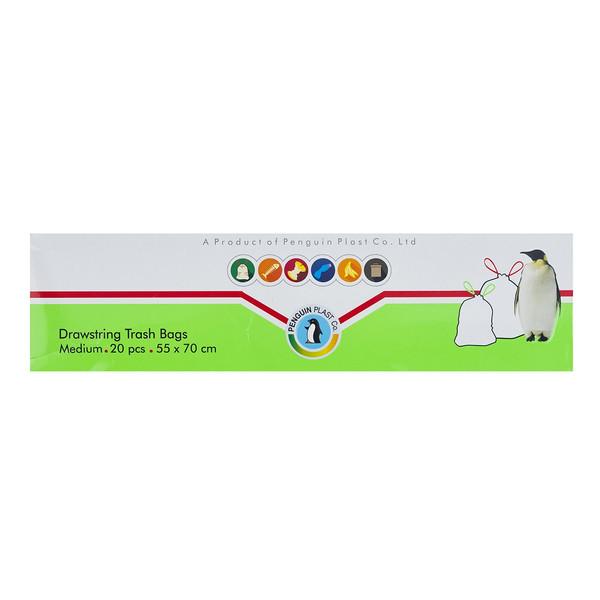 کیسه زباله پنگوین کد 100222 سایز متوسط