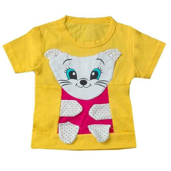 تی شرت دخترانه رادین کد 6009