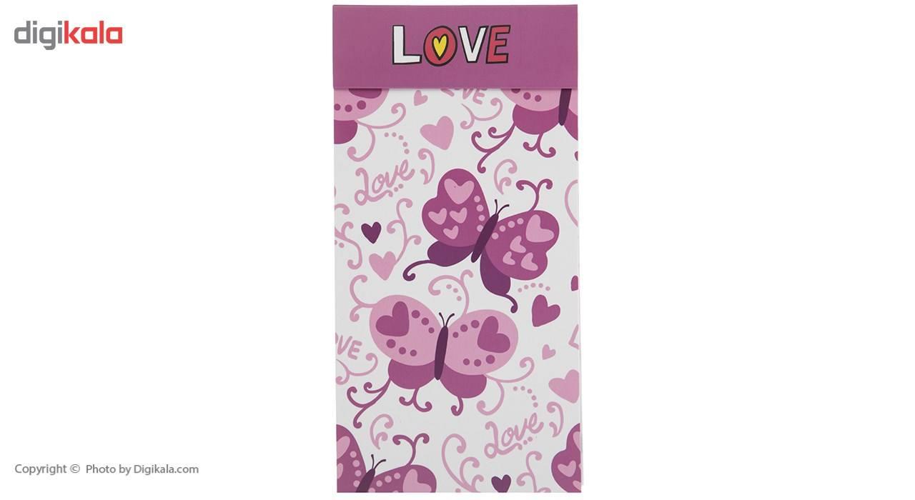 خرید اینترنتی با تخفیف ویژه دفتر یادداشت آوای تحریر مدل Love
