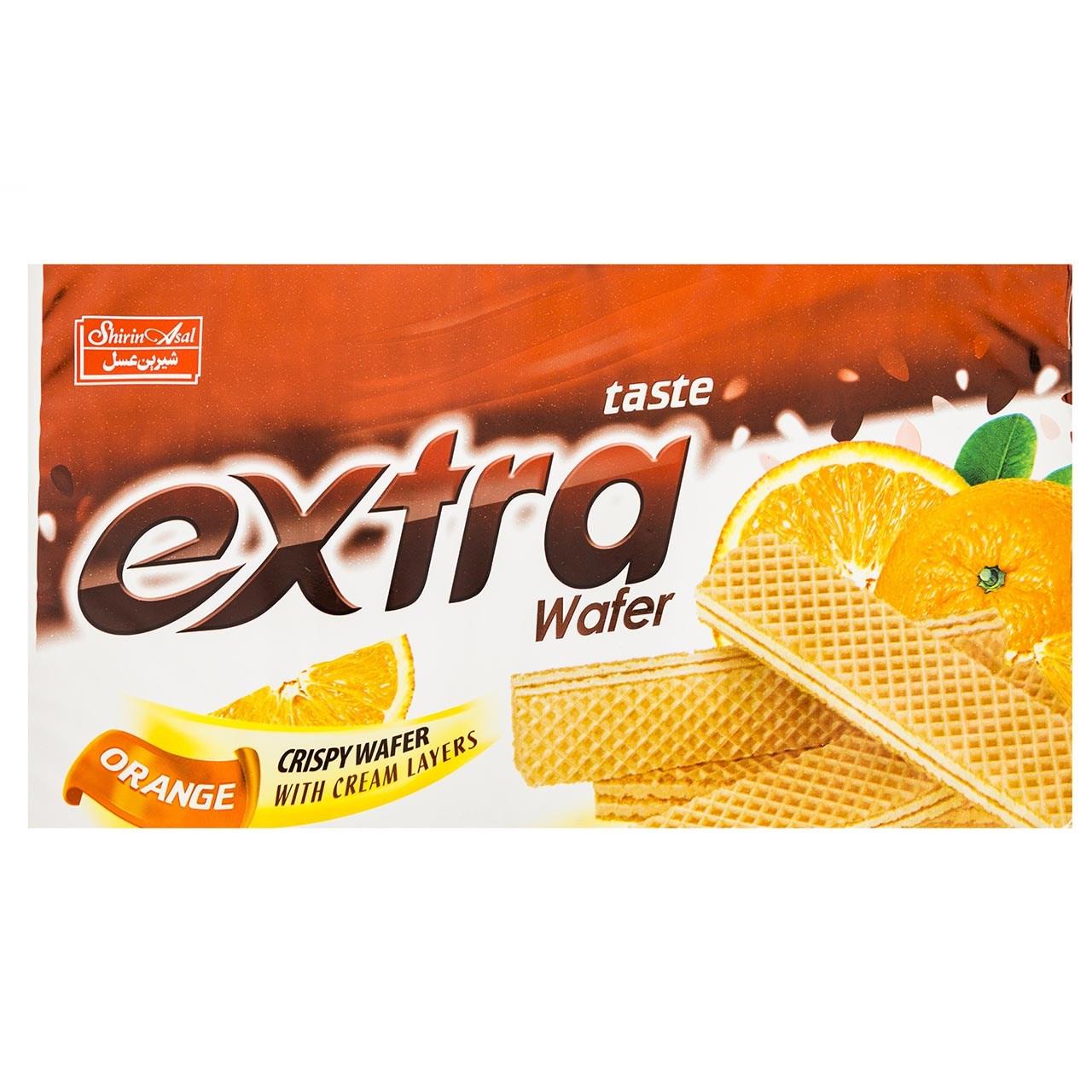 ویفر پرتقالی شیرین عسل مقدار 115 گرم